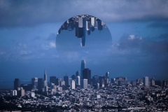 Inverted Cityscape
